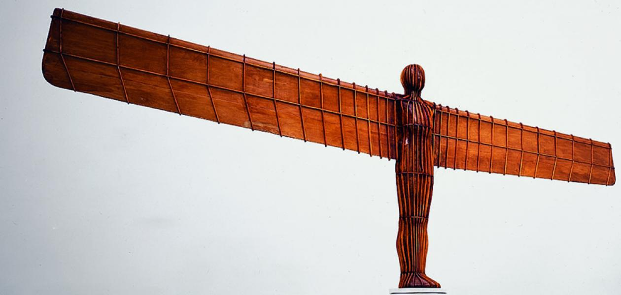ANGEL OF THE NORTH [1/20 MAQUETTE], 1995