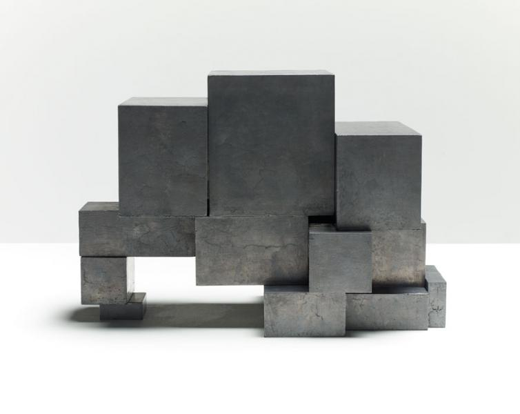 SMALL STOP (ASSEMBLED LEAD BLOCKS), 2015